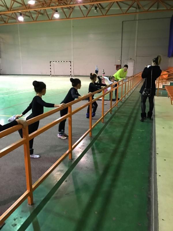 2016, un an bun pentru sportivele secției de gimnastică ritmică