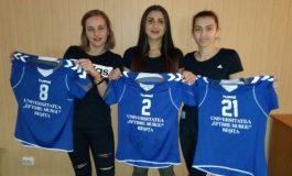 Emoții pentru echipa de handbal feminin. CSU Reșița începe lupta pentru Liga Națională