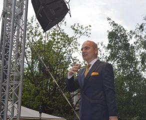 Rareș Bogdan și staff-ul de campanie PNL în Caraș-Severin