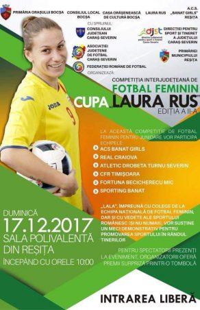 Laura Rus aduce vedete la Reșița!