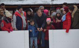 S-a deschis patinoarul din Caransebeș