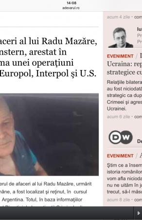 Viki din Moldova Nouă confundat cu Avraham Morgenstern