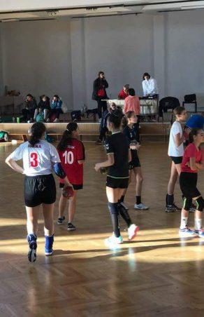 Handbalistele profesoarei Lucia Moruț, speră la un loc în lotul național de cadete