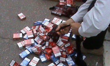 1.444 de țigarete și 11 trabucuri nefiscalizate, confiscate de polițiști!