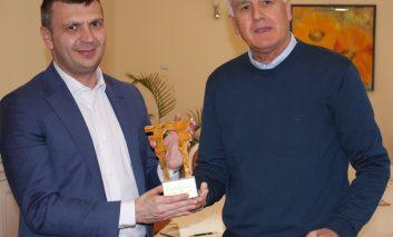 """""""Podul de Aur al Dunării"""" a ajuns la Consiliul Județean Caraș - Severin!"""