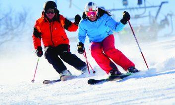"""""""Onpiste"""", aplicația gratuită românească unică în Europa, destinată amatorilor de schi."""