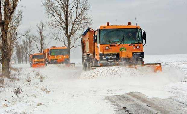 Iarna își face simțită prezența, cu un nou cod galben de ninsori în Banat.