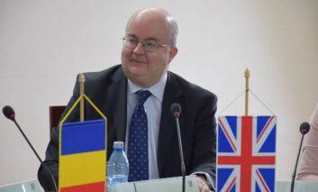 Paul Brummell, la Reşița: părăsim UE, dar continuăm parteneriatele economice cu țările din Uniune.