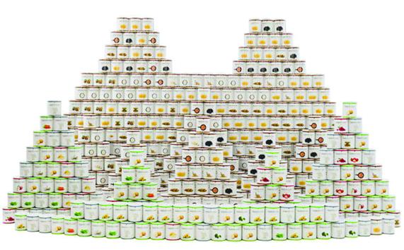 Pentru cei prevăzători, în cazul unei apocalipse: kit cu mâncare pentru un an!