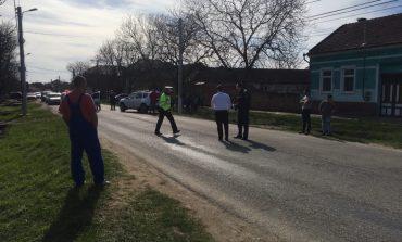 Fetiță de 4 ani lovita de mașină la Ticvaniul Mare