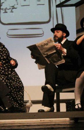 Actorii Teatrului de Vest Reșița, participă la Zilele Cultural Europene de la Pucioasa!