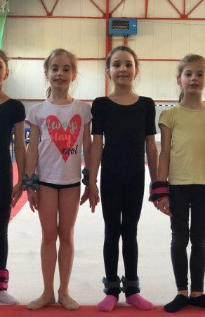Cele mai mici gimnaste intră în concurs la Baia Mare!