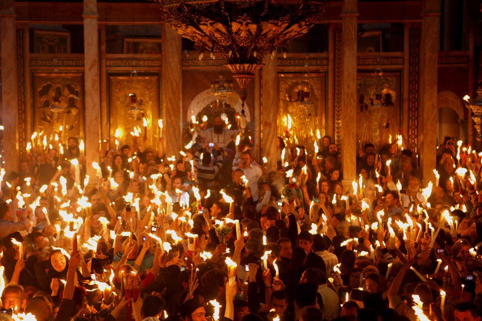 Sfintele sărbători pascale la creștinii ortodocși