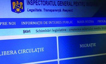Cetățeni străini cu vize de şedere expirate, somați să părăsească România.