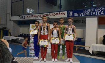 Campionatul Național de gimnastică s-a încheiat! 12 medalii au rămas la Reșița!