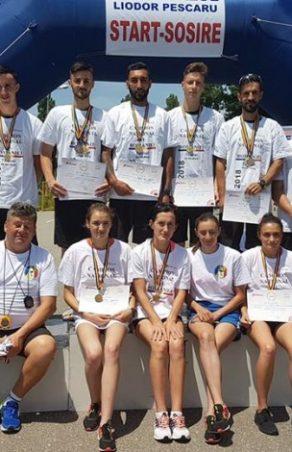 13 medalii pentru atleții de la CSU Reșița, la Campionatul Național de marș!