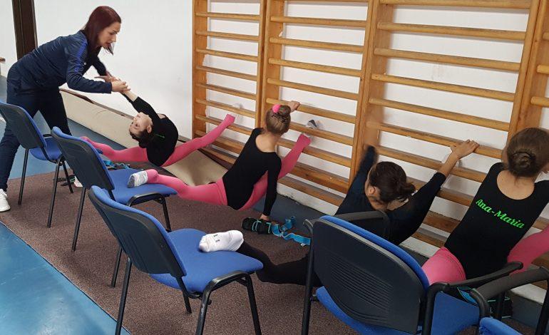 Concurs greu pentru gimnastele de la CSȘ Reșița!