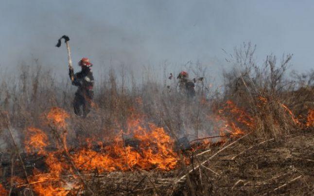 Luna octombrie ,luna de foc pentru pompieri caraseni!