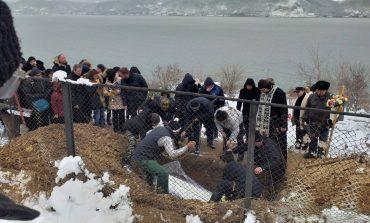 Anca Pop a fost înmormântată lângă Dunăre