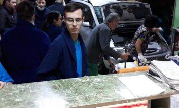 Un șofer băut din Moldova Nouă a intrat cu mașina în Unitatea de Primiri Urgențe a Spitalului din Craiova