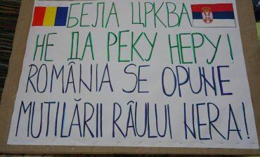 Protest la Belgrad pentru salvarea Nerei