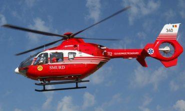 Elicopterul SMURD a ajuns la Moldova Nouă