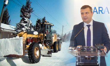 Mai multe contracte pentru deszăpezirea drumurilor județene ar putea fi reziliate
