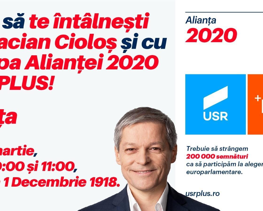 Dacian Cioloș așteptat joi, la Reșița