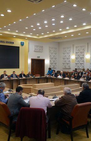 Ședință extraordinară de Consiliu Județean