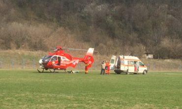 Elicopterul SMURD interventie de urgenta astăzi în Clisura Dunării