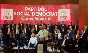 Dragnea, la alegerile PSD Caraș-Severin: Sper să faceți politică pentru oameni, nu pentru găști