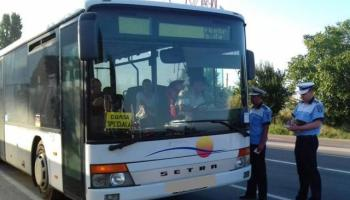 Poliția verifică din nou hârburile maxi-taxi