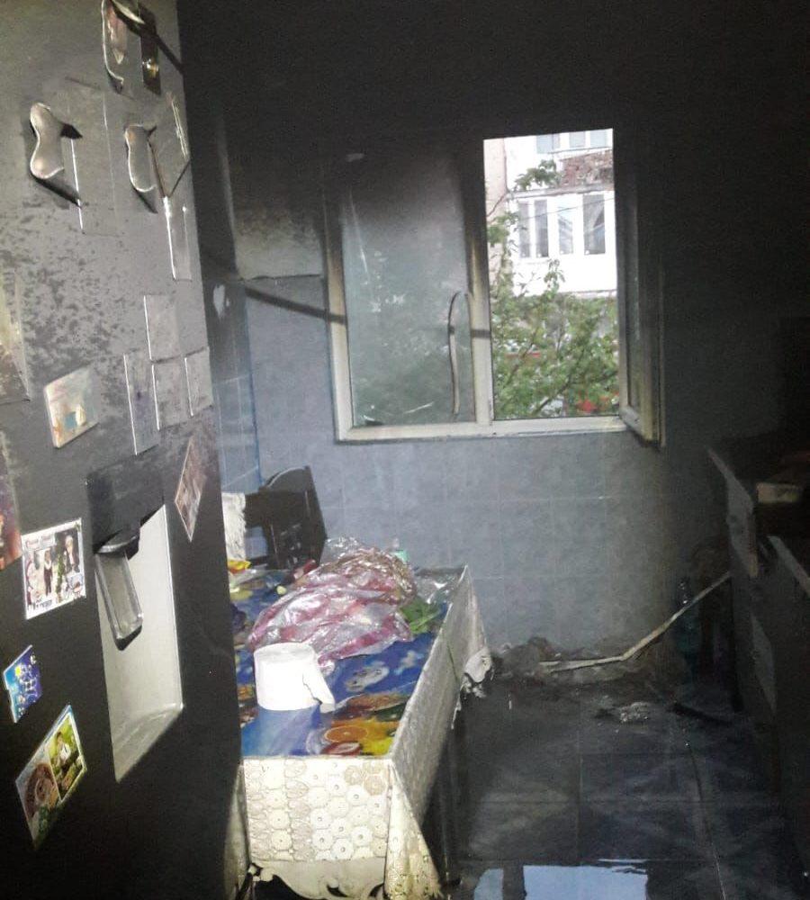 Incendiu la Moldova Nouă