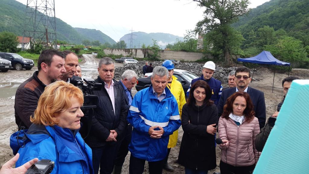 Ministrul Deneș a verificat investițiile derulate în județul Caraș-Severin